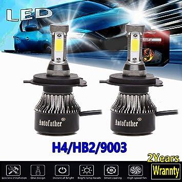 Car H7 20000LM 200W COB LED Headlight Kit Low Beam High Power 6500K White Bulbs