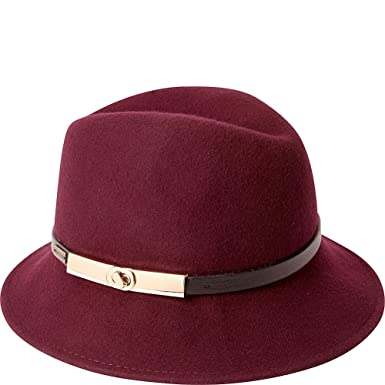 bc5300afa29 Betmar Women Darcy Fedora Plum One Size Fits Most  Amazon.in  Clothing    Accessories