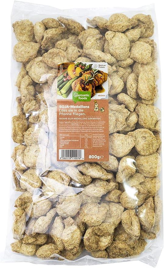 Medallones de soja, de Vantastic Foods, 800 g