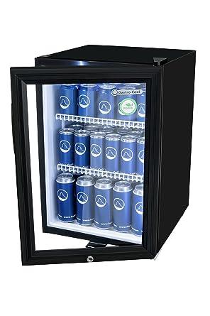 Mini-Kühlschrank in Schwarz (62 l) | Kleiner Getränke-Kühlschrank ...
