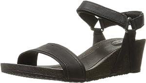 34c60b77e93a Teva Women s W Ysidro Stitch Wedge Sandal