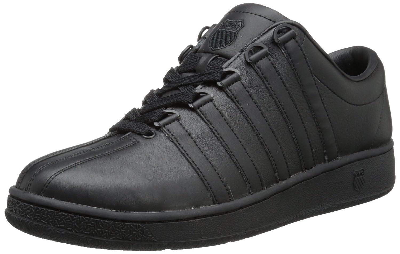 K-Swiss Men's Classic LX Lace-Up Sneaker B00018C7AW 8 D(M) US Black
