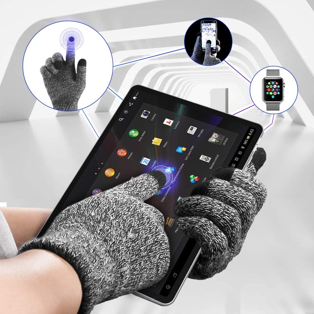 Unisex Universale Soft Touch Screen Cellulare Guanti Inverno Caldo Guanti di alta qualità
