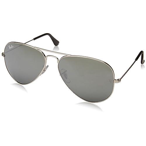 Ray Ban RB3025 W3277 58 Gafas de sol plateado 0 Unisex