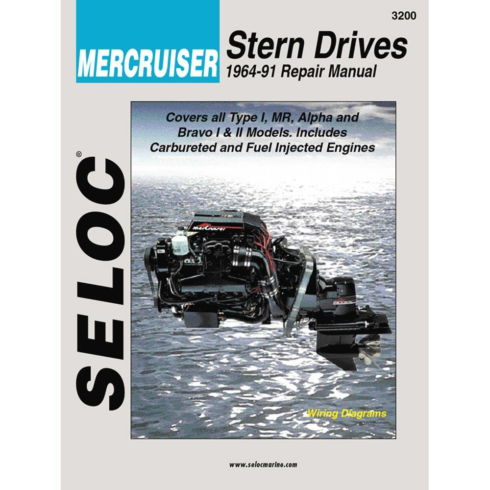 Amazon.com : Mercruiser Engine & Stern Drive Repair Manual, VOL I,  1964-1991 : Outboard Motors : Sports & Outdoors