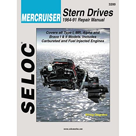 mercruiser sterndrive engine lower unit 1964 1991 workshop service repair manual download