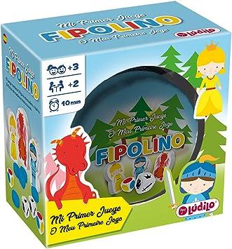 LUDILO-Fipolino mesa para niños, familia educativo, mi primer juguete, viaje, juego playa, Lógica y velocidad 80870: Amazon.es: Juguetes y juegos