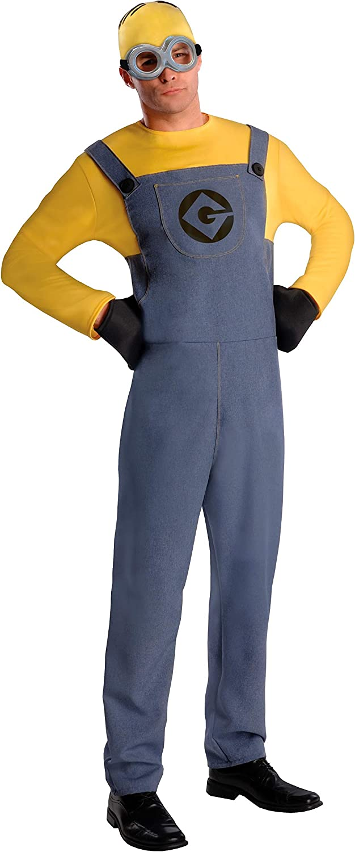 Rubbies - Disfraz de Minion para Hombre, Talla única (887201STD ...