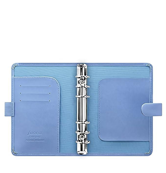 Amazon.com: Filofax Saffiano Personal Organizer- Vista Azul ...