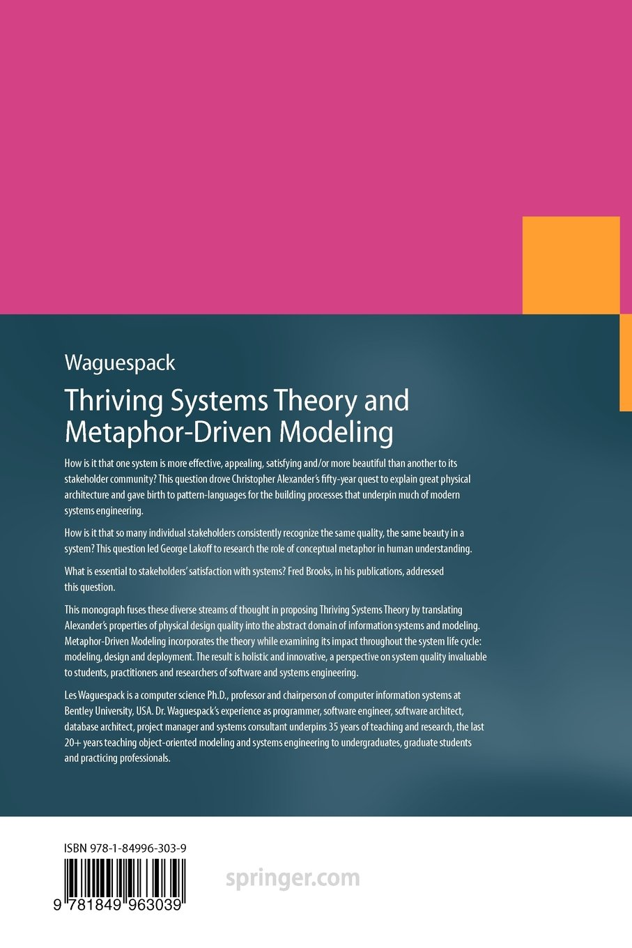 Thriving Systems Theory and Metaphor-Driven Modeling