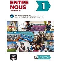 Entre nous 1 A1 : Livre de l'élève + cahier d'activités (2CD audio): Entre nous 1 Livre de l'élève + Cahier d'exercises…