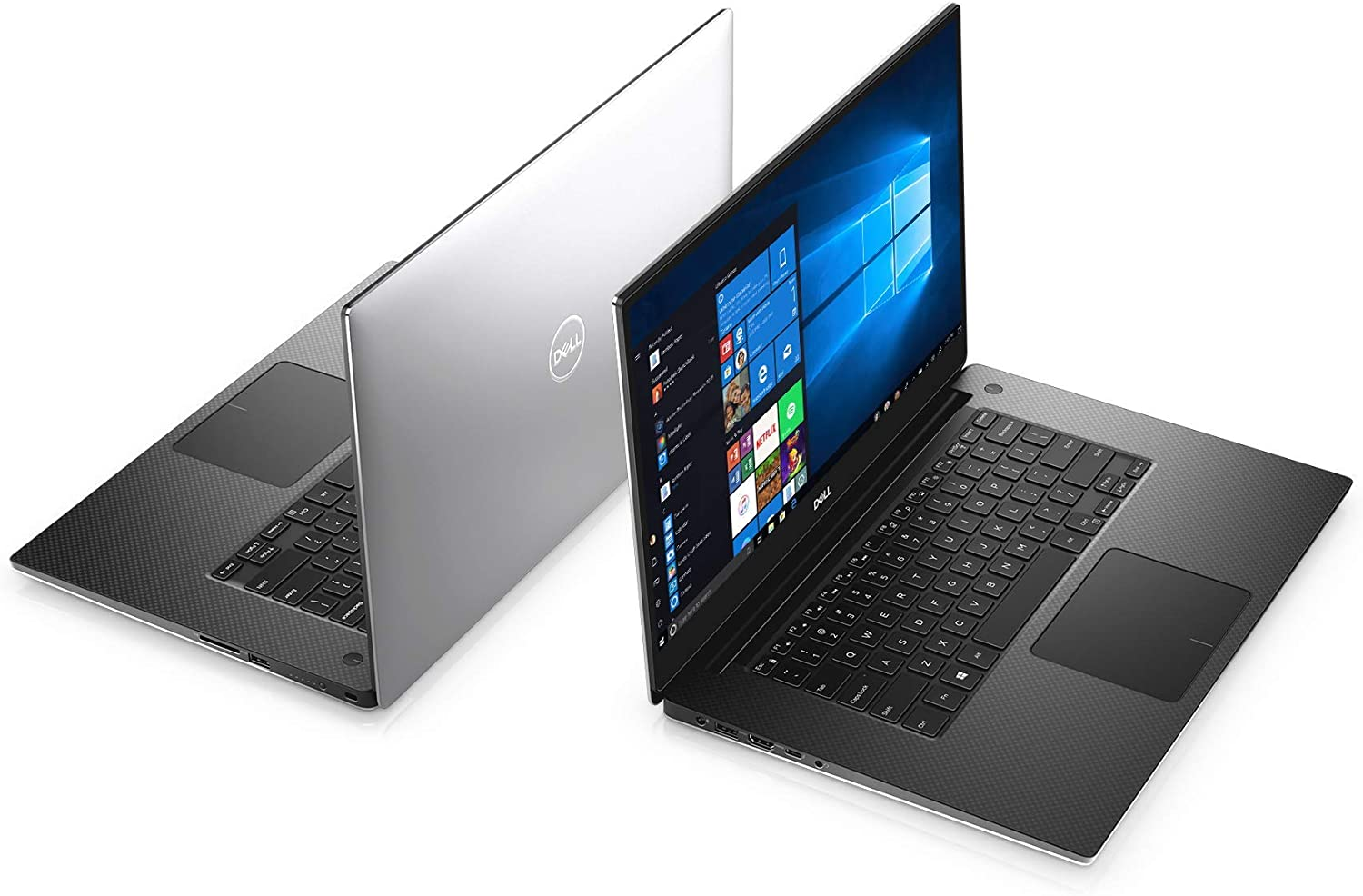 Dell XPS 15 7590,15.6 4K UHD (3840 X 2160) Touch, 9th Gen Intel Core i7-9750H (12MB Cache, up to 4.5 GHz, 6 Cores), 16GB DDR4-2666MHz RAM, 1TB SSD, NVIDIA GeForce GTX 1650 4GB GDDR5 (Renewed)