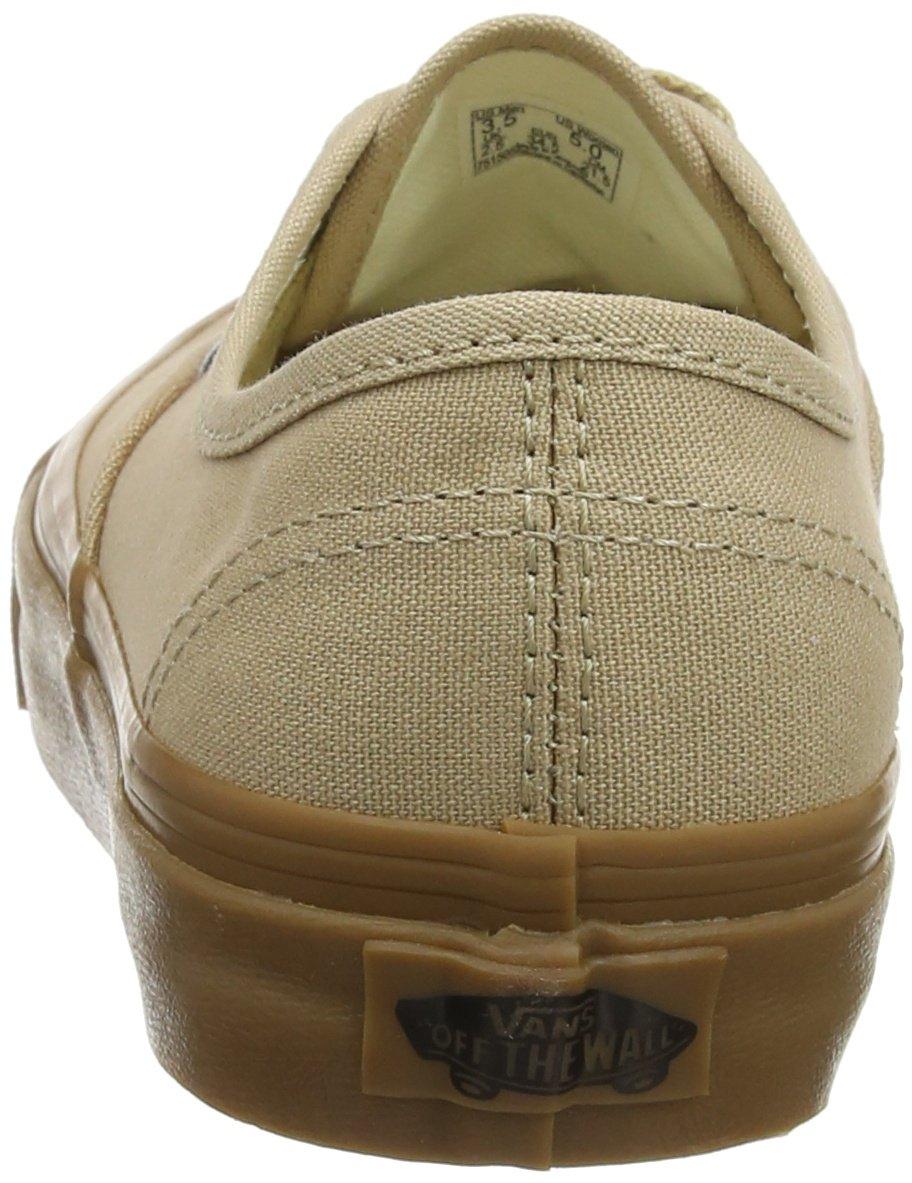 Vans Unisex Adults' Authentic Trainers, Beige (Sesame/Gum Qa2), 9.5 UK 44 EU by Vans (Image #2)