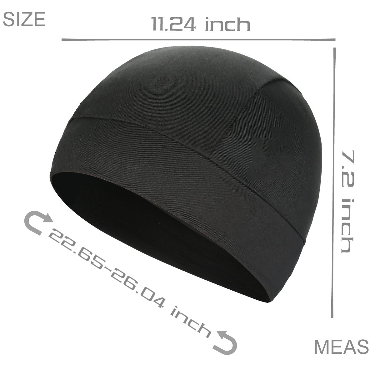 b8c64dec8d991 Amazon.com  JOEYOUNG Helmet Liner Skull Cap Running Beanie for Men   Women  Great for Motorcycling Cycling Running Football in Winter Cold Chilly Days   ...