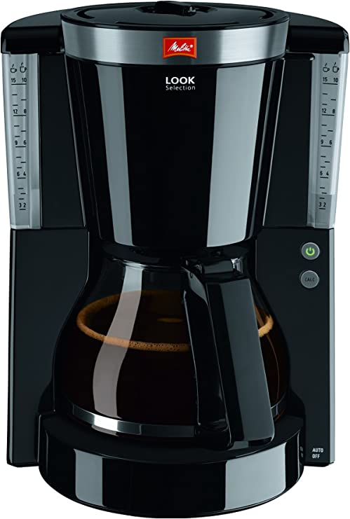 Melitta Look Selection - Cafetera de goteo, 1000 W, color negro ...