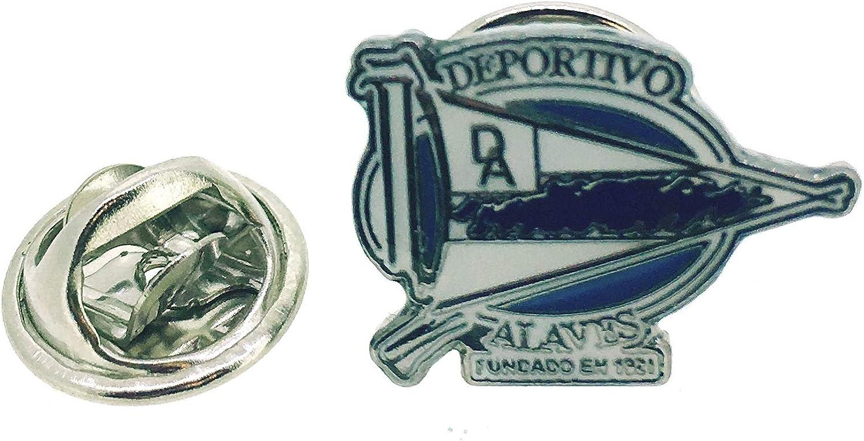 Gemelolandia Pin de Solapa Club Deportivo Alavés: Amazon.es: Ropa y accesorios