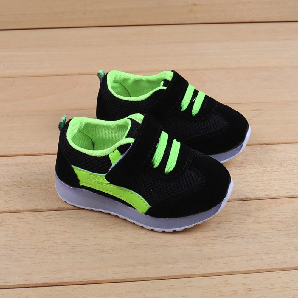 ❤ Flash Sneaker para bebés, Toddler Baby GIRS Led Light Shoes Niños Soft Luminous Outdoor Sport Sneaker Absolute: Amazon.es: Ropa y accesorios
