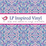 Craft vinyl lilly P inspired vinyl La Playa, lilly monogram, lilly inspired, lilly vinyl, htv vinyl, vinyl rolls lilly p, LP-118