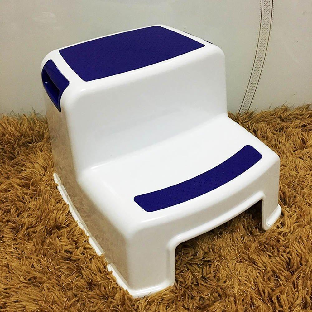 a precios asequibles BJL BJL BJL Taburete Step Taburete de plástico para niños pequeños Taburetes de pie para taburetes de baño para niños pequeños Escalera de taburetes de 2 Pasos para niños para Entrenamiento con Orinal OYO  opciones a bajo precio