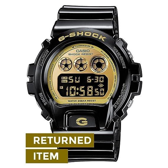 Casio G-Shock - Reloj digital de caballero de cuarzo con correa de resina negra (alarma, cronómetro, luz) - sumergible a 200 metros: Amazon.es: Relojes