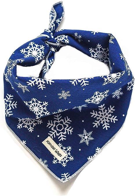 Christmas Snowflakes Bandana