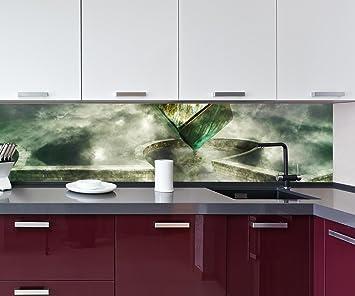 Cocina Pared Trasera Caja mágica Design M0770 260 x 60 cm (W x H)