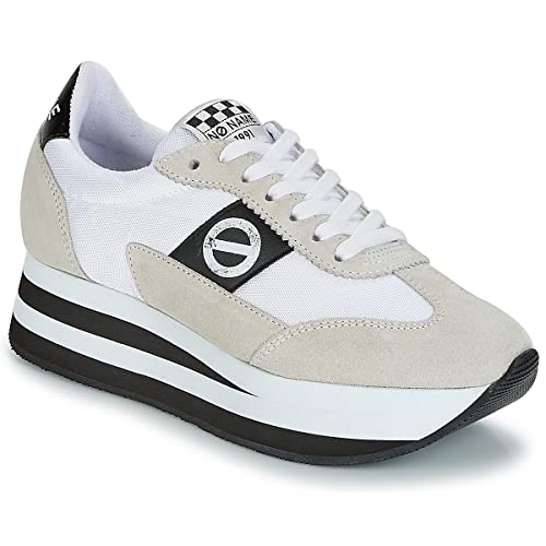 NO Name Flex Jogger Zapatillas Moda Mujeres Blanco - 40 - Zapatillas Bajas: Amazon.es: Zapatos y complementos