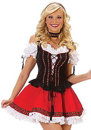 swiss girl costume oktoberfest costume bar maid costume amazon co