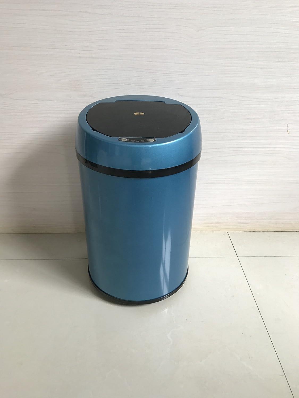 amazon Tkopainsde Coloré Blue Poubelle Automatique Induction Intelligents Ordures 12L pas cher prix