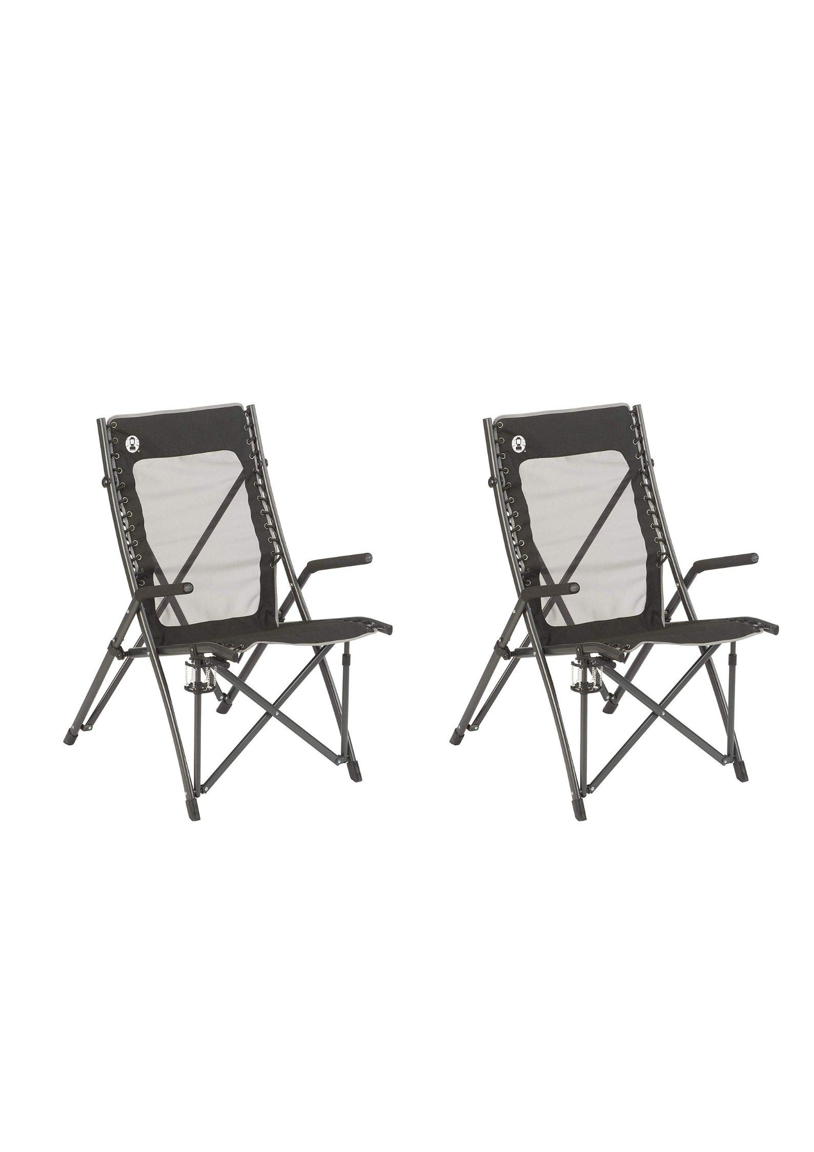 Coleman ComfortSmart Suspension Chair (2 Pack)