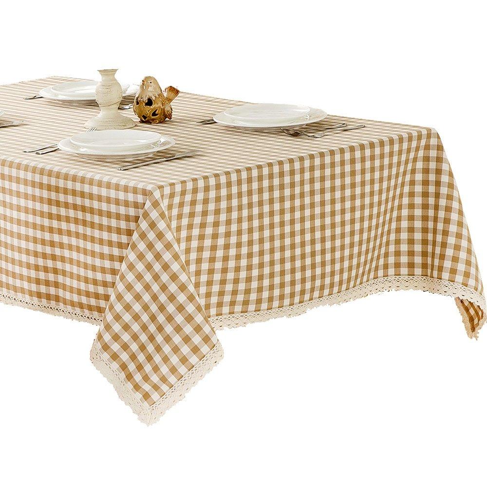 R.LANG Spillproof Table Runner 14 x 60-inch Kitchen Table Runner For Dinner Parties Beige