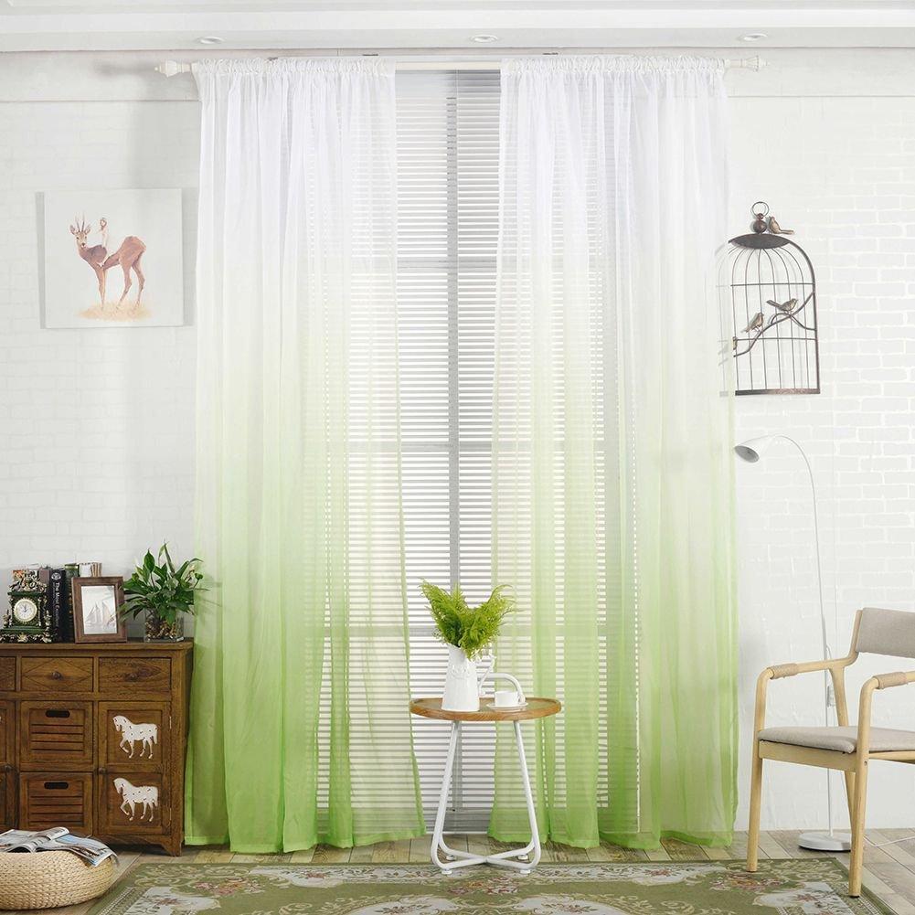 Handfly, tende da camera da letto con stampa, tende alla moda per cucina, soggiorno, camera da letto, 100% poliestere, Grey, 100*200CM/40*79 100*200CM/40*79