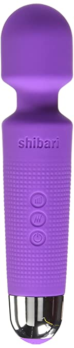 Shibari Mini Halo 20X Multi-Speed Wireless Power Wand Massager