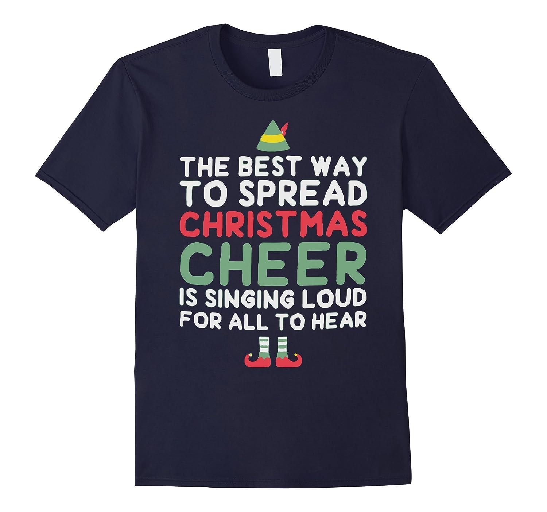 Elf Tshirt Christmas Tshirts-azvn