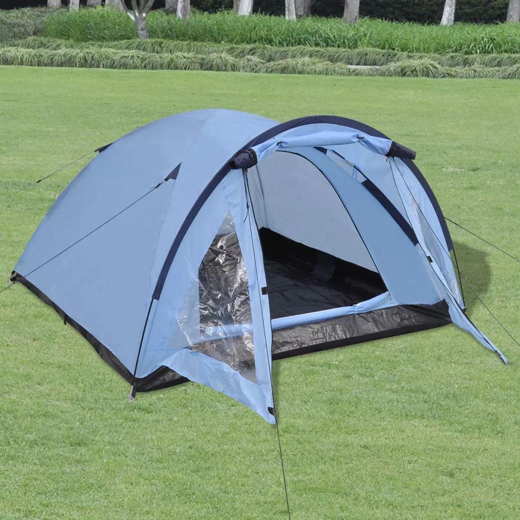 XuzhEU Zelt für 3 Personen Blau