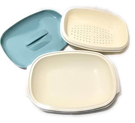 Amazon.com: clásico Tupperware Microondas Arroz vegtable Hot ...