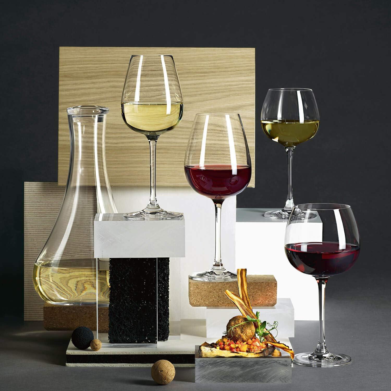 Transparent 570 ml Villeroy /& Boch Purismo Specials Verre /à Vin Rouge Tannique Te Structur/é Cristallin