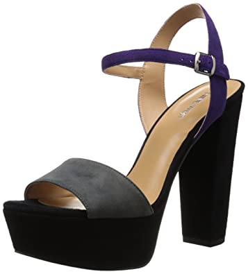 3eb81ba3dbce Nine West Women s Carnation Suede Heeled Sandal