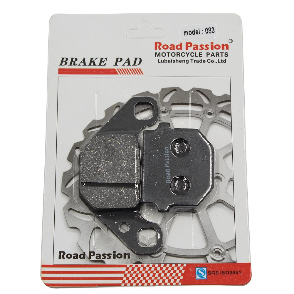 "Road Passion Motocicleta Pastillas de freno trasero para DERBI Senda DRD Xtreme 50 SM Motard//17/"" cast wheels//260mm disc 2011"