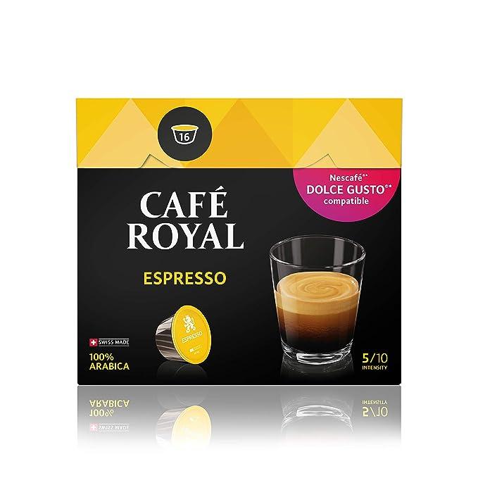Café Royal Espresso 48 cápsulas compatibles con Nescafé (R)* Dolce ...