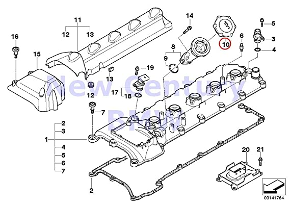 Amazon Com Bmw Genuine Cylinder Head Cover Cap For Oil Filler M3 M5