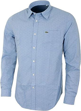 Lacoste - Camisa Formal - para Hombre: Amazon.es: Ropa y accesorios