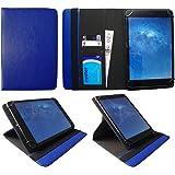 Mediacom SmartPad i10 3G 10.1 Pollici Tablet Blu Universale 360 Gradi di Rotazione PU Pelle Custodia Case Cover di Sweet Tech