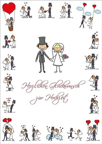 Carte Mariage Humoristique A4 Carte Félicitations Mariage Au