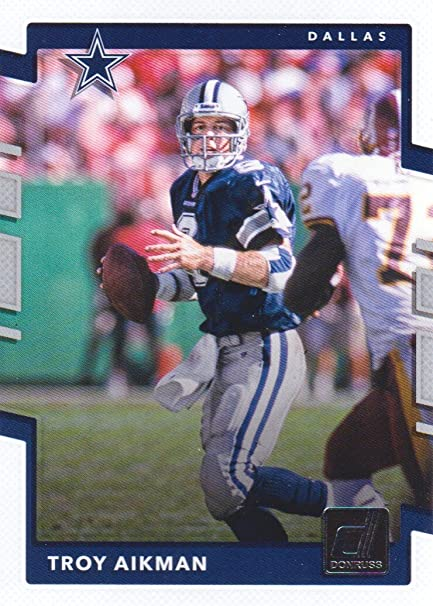acd2aa2b974 Image Unavailable. Image not available for. Color  2017 Donruss Football   96 Troy Aikman Dallas Cowboys