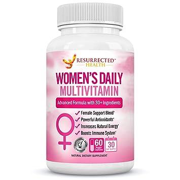 Multivitamin for Women with Biotin + Folic Acid + B12 + Calcium + Magnesium - Womens