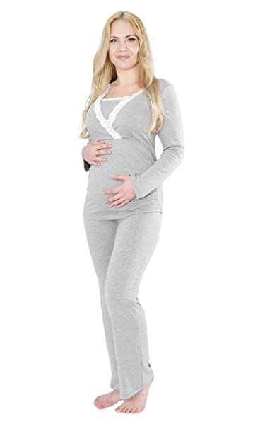 Herzmutter Pijama de Lactancia