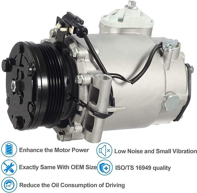 AC Compressor Clutch NSK BEARING fits; SATURN 1991-2005 OEM Compressor