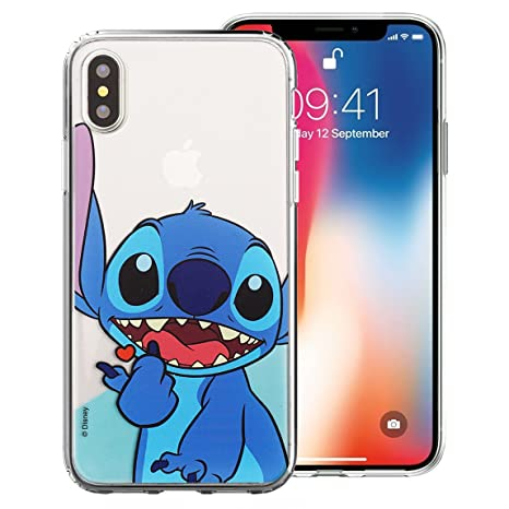 huge selection of c0792 d996f iPhone Xs Case/iPhone X Case Cute Soft Jelly Cover for [ iPhone Xs/iPhone X  ] Case - Heart Stitch