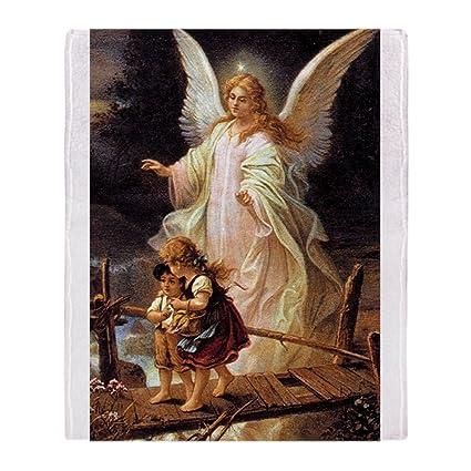 Amazon CafePress Guardian Angel Soft Fleece Throw Blanket Cool Guardian Angel Throw Blanket